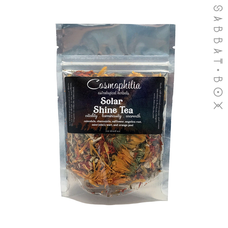 Solar Shine Tea - Cosmophilia Astrological Herbals Pagan Tea - 1oz