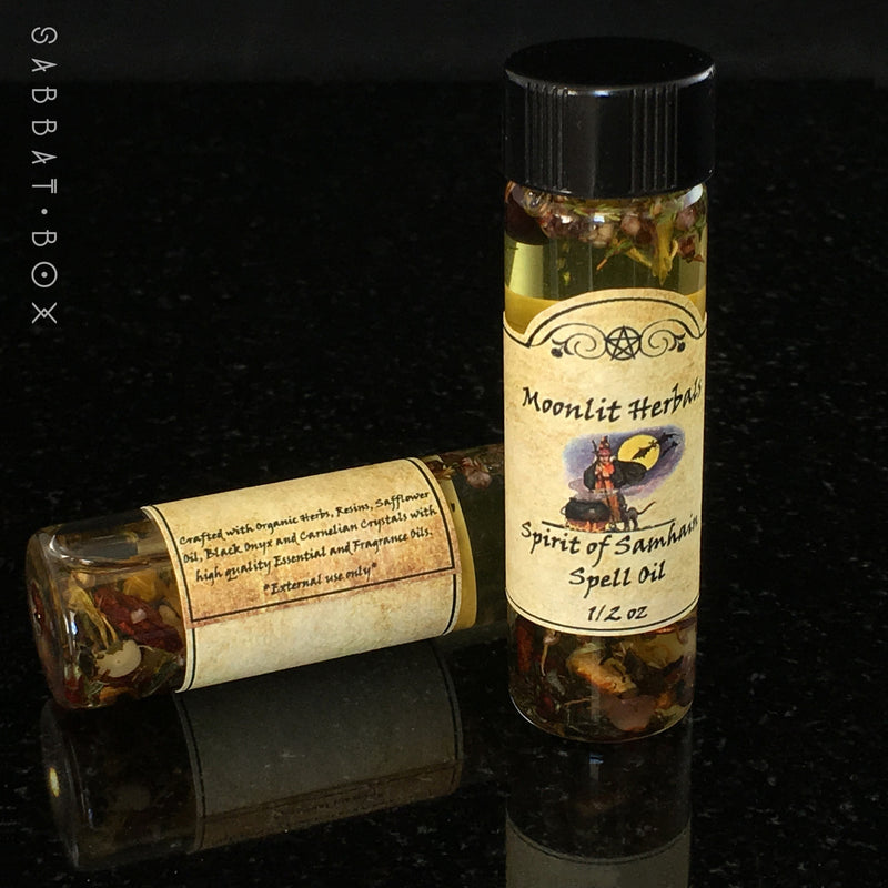 The Spirit Of Samhain Sabbat Spell Oil