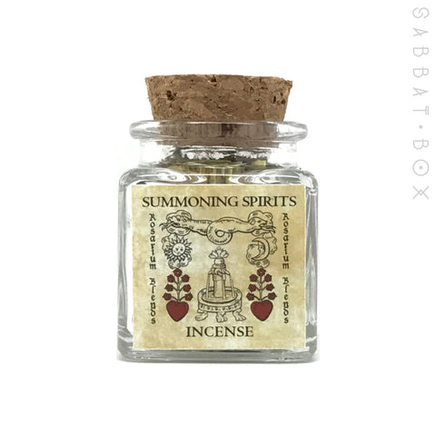 Summoning Spirits Incense By Rosarium Blends
