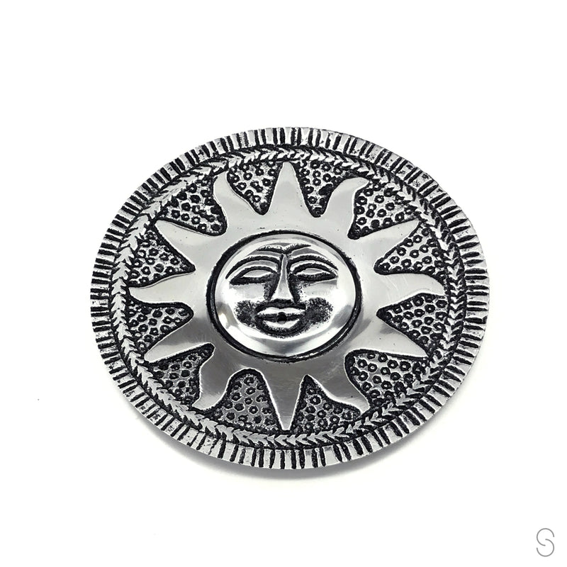 Aluminum Sun Stick Incense Burner/Holder - Sabbat Box