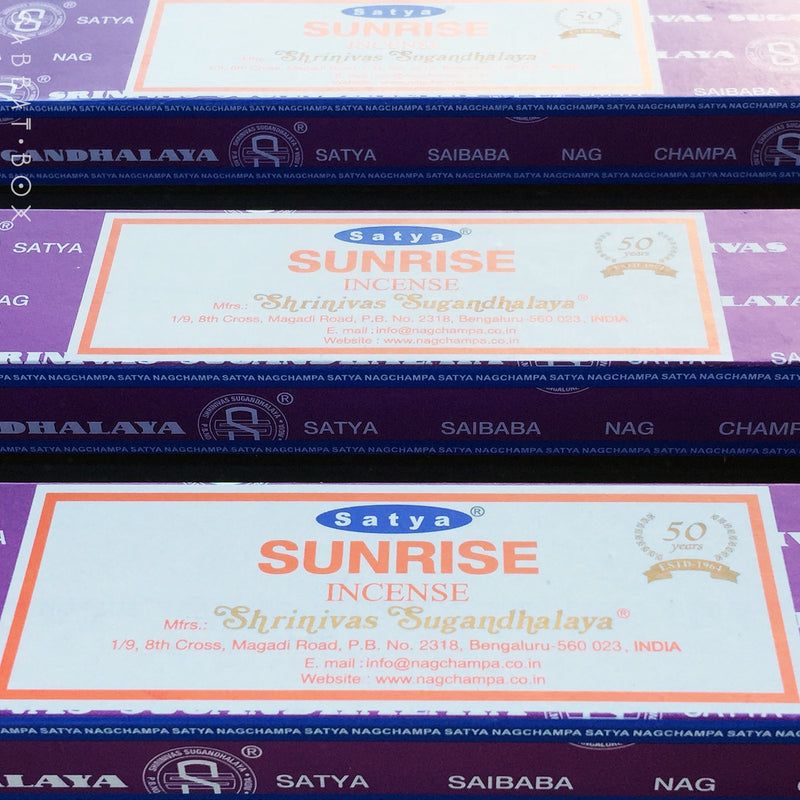 Satya Nag Champa Sunrise Stick Incense