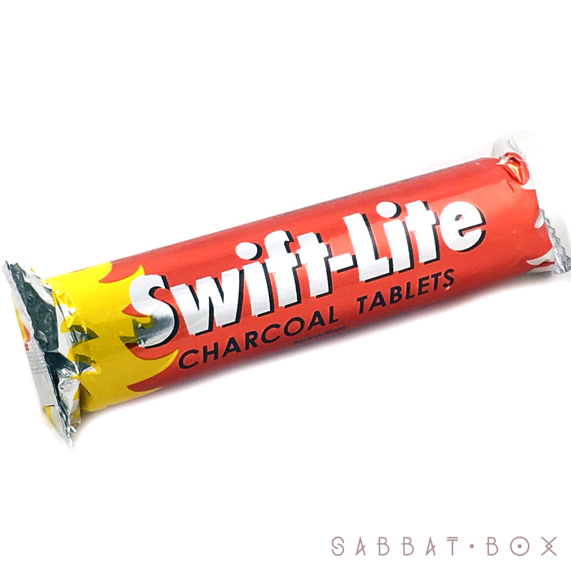 Swift Lite Incense Charcoal10 Pack 33mm Disks