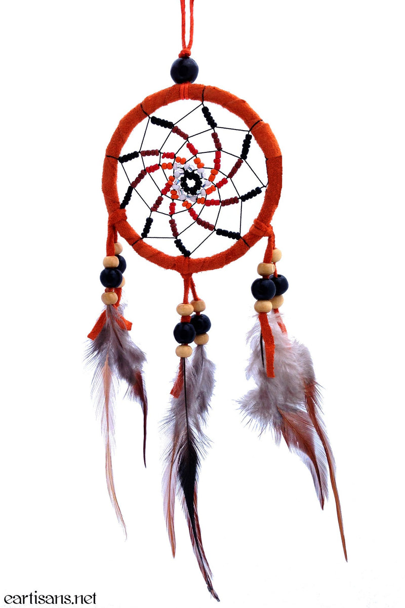 handmade vortex dreamcatcher