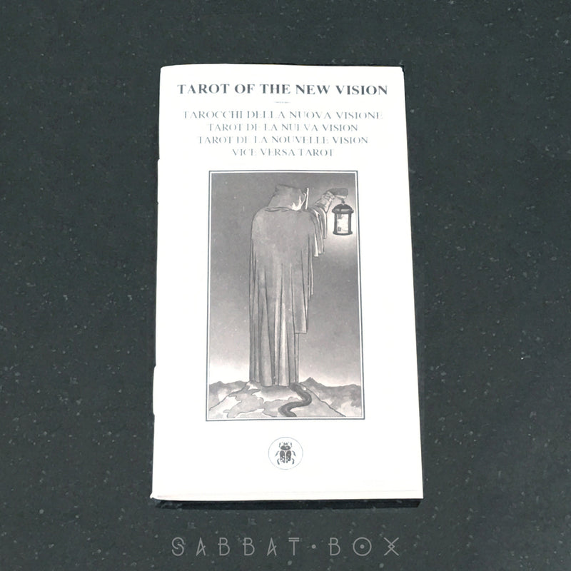 Tarot of the New Vision By Lo Scarabeo - Instruction Booklet
