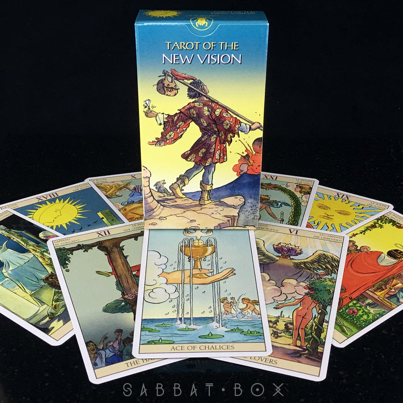 Tarot Of The New Vision By Lo Scarabeo and Llewellyn - Sabbat Box Tarot Deck
