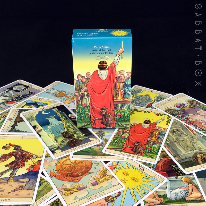 Tarot of the New Vision by Pietro Alligo, Raul And Gianluca Cestaro