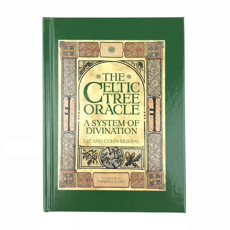 Celtic Tree Oracle Deck and Book Set - Ogham Divination Cards - Sabbat Box