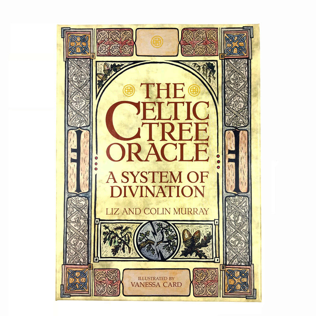 Celtic Tree Oracle Deck and Book Set By Murry and Murry - Ogham Divination Cards Sabbat Box