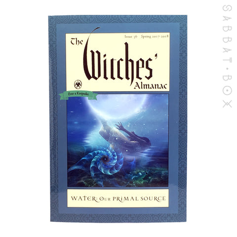 The Witches' Almanac Spring 2017 to 2018 Water our Primal Source - Sabbat Box