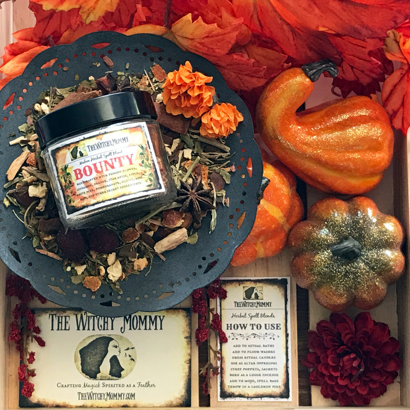 Bounty Mabon Herbal Blend by The Witchy Mommy - Sabbat Box Mabon Box