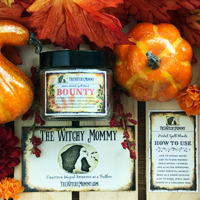 Bounty Mabon Herbal Blend by The Witchy Mommy - Sabbat Box