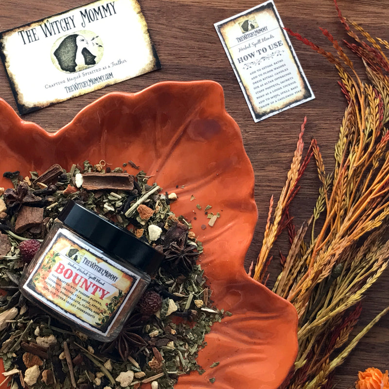 Bounty Mabon Herbal Blend - Sabbat Box - The Witchy Mommy