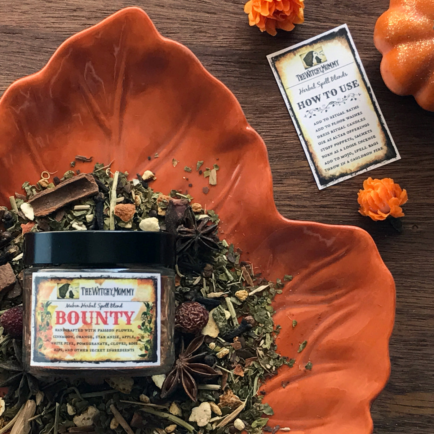 Bounty - Mabon Herbal Spell Blend By The Witchy Mommy
