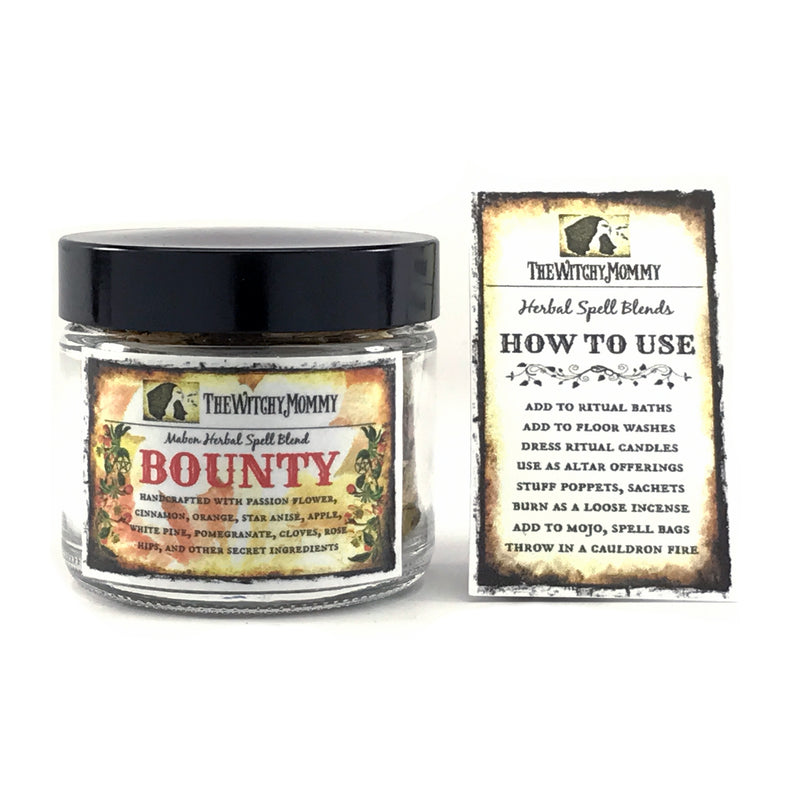 Bounty Mabon Herbal Spell Blend By The Witchy Mommy - Sabbat Box