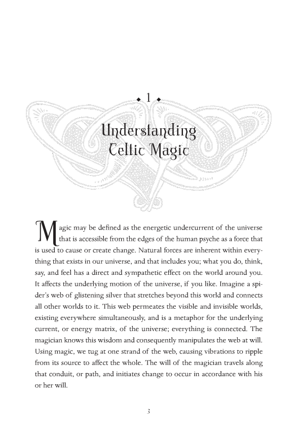 The Book of Celtic Magic By Kristoffer Hughes