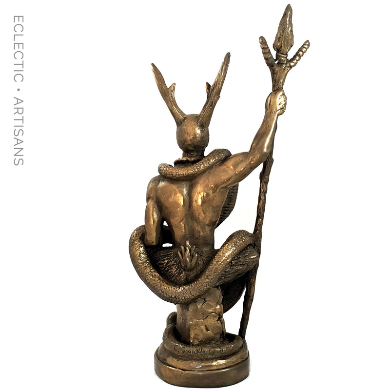 The Witch Lord Statue By Chris Orapello Pagan Statues