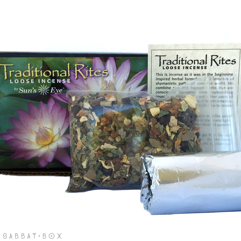 Solar Gate Traditional Rites Loose Incense Kit