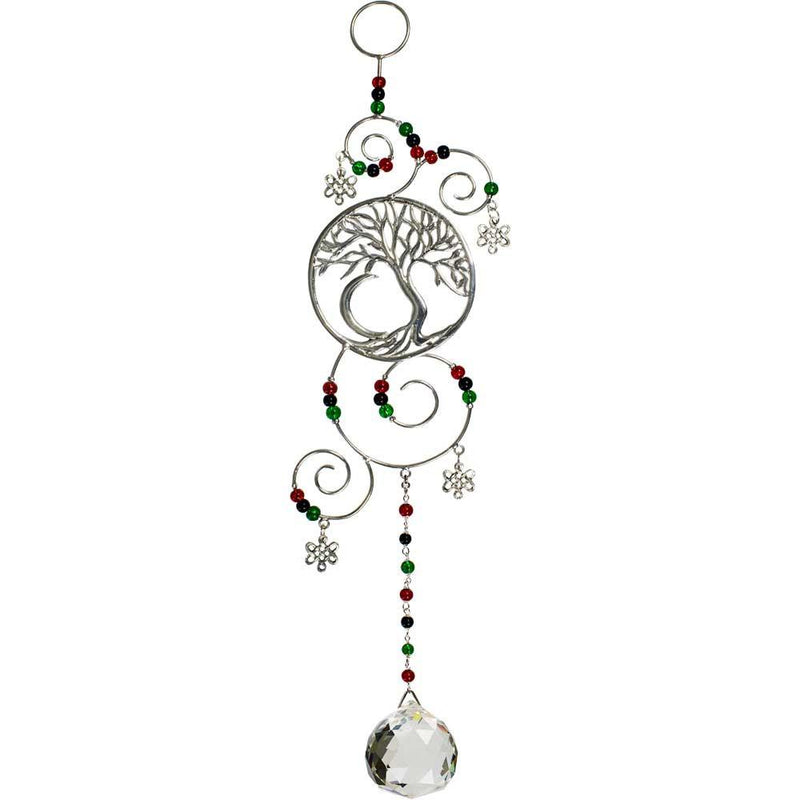 Tree of Life Crystal Home Talisman