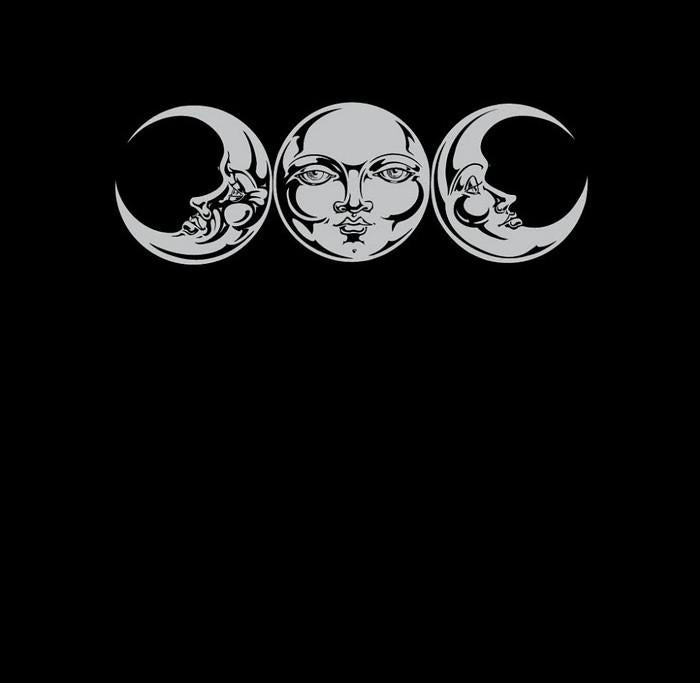 Triple Moon Phase Wiccan T-Shirt