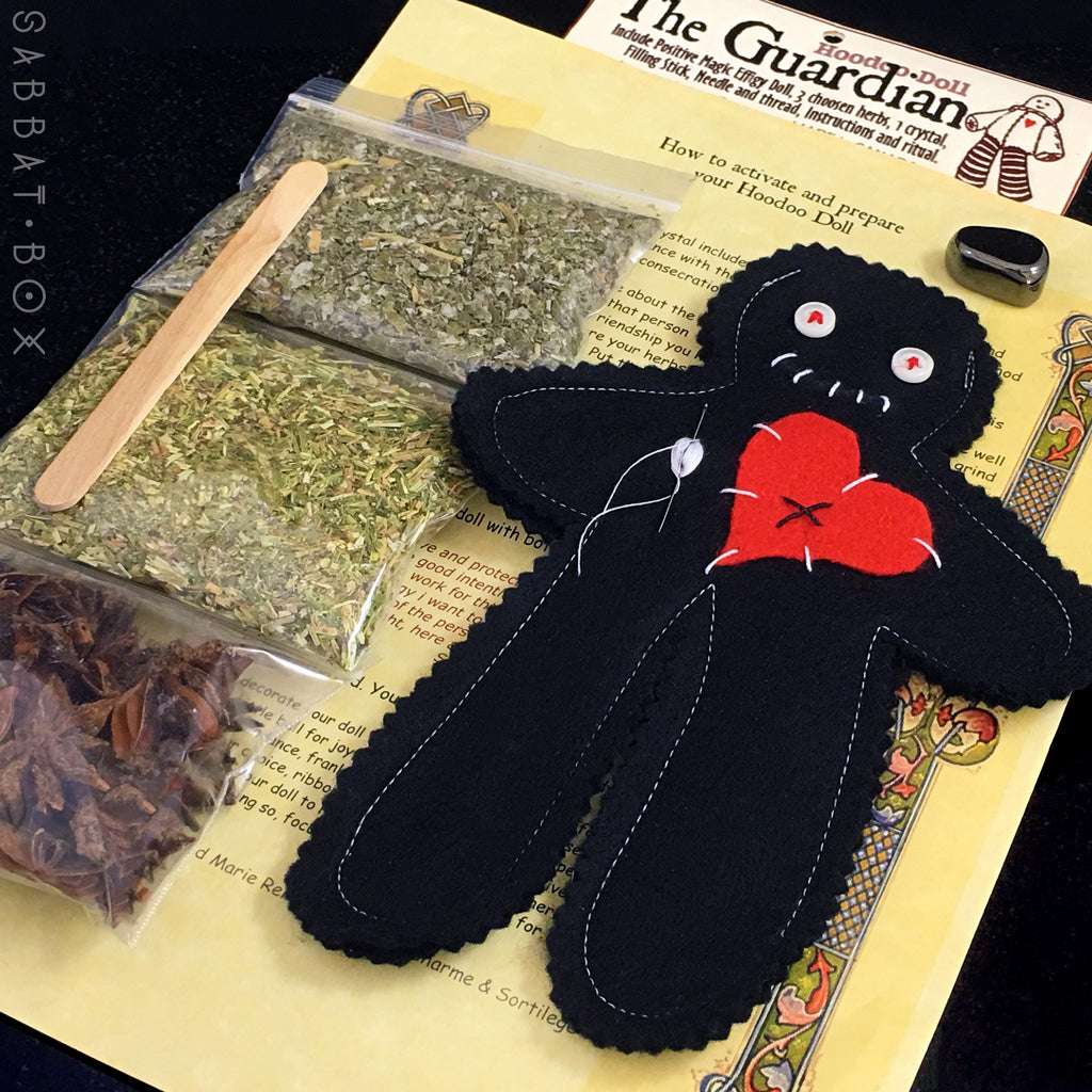 The Guardian Protection Poppet Kit w/Instructions Samhain Sabbat Box