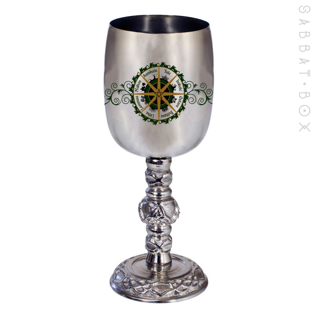 Wheel of the Year Chalice