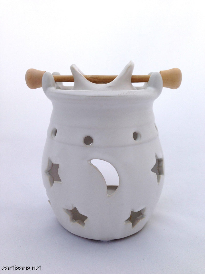 White Celestial Oil Burners