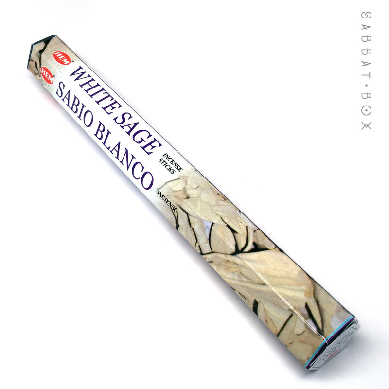 White Sage Stick Incense - 20 pack