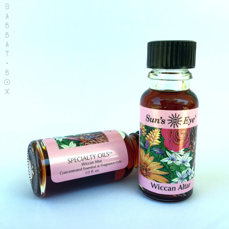 Wiccan Altar Ritual Oil by Sun's Eye
