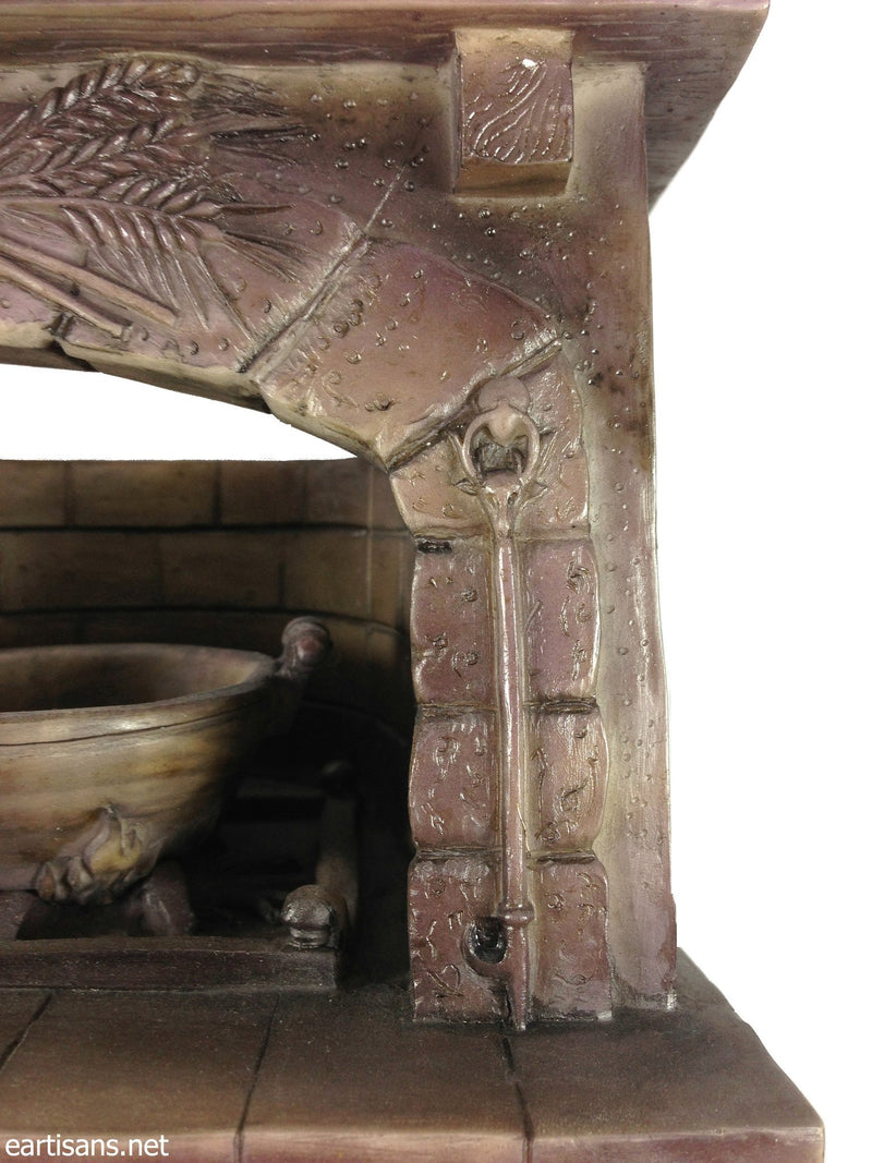mini pagan fireplace