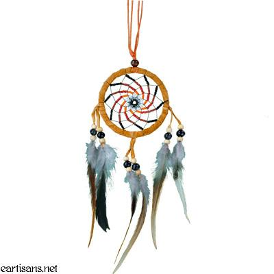 vortex dream catcher tan