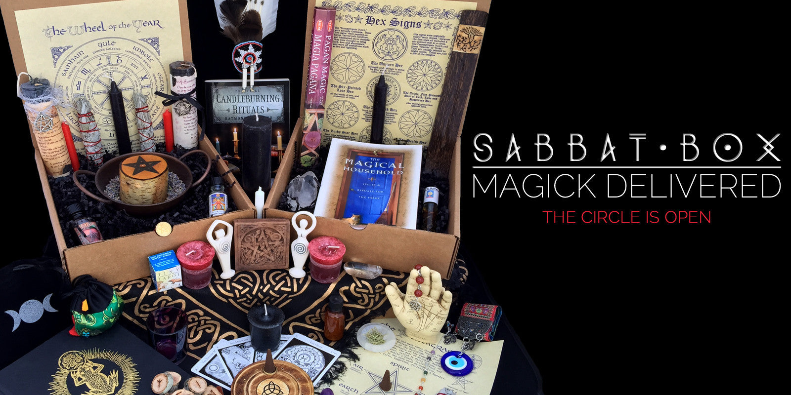 Subscription Box For Pagans and Wiccans for Each Sabbat