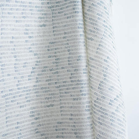 Speckle in Nude and Marine Fabric