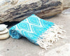 Turkish Towel, Aztec Design Peshtemal Beach Towel