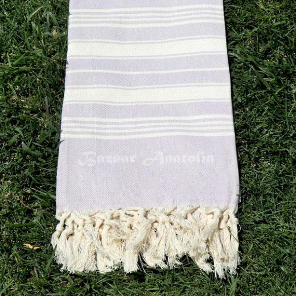 lilac turkish towel