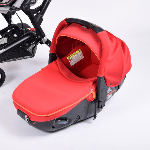 Jané Matrix Light 2 Car Seat/Carrycot, Red - Grade 2