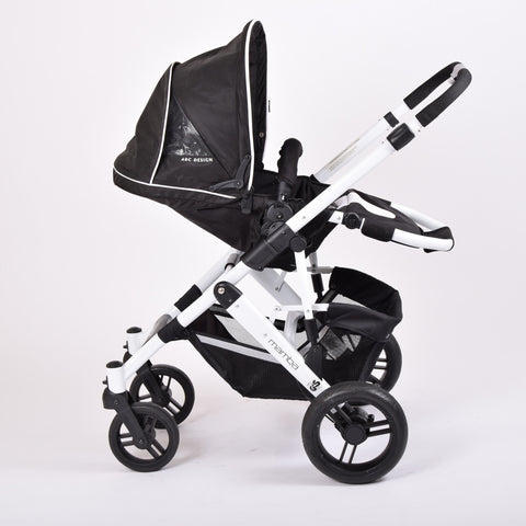 Obaby ABC Design Mamba, Black & White - Grade 2