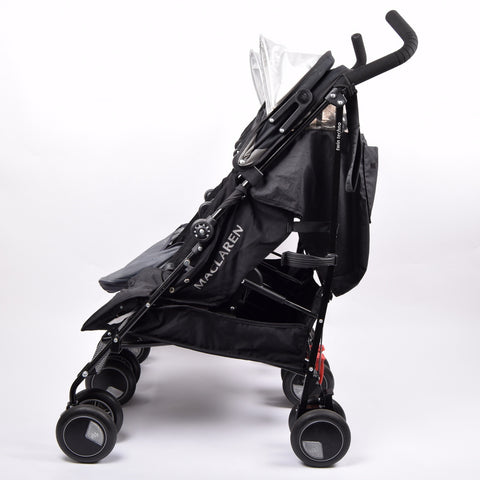 Maclaren Twin Techno, Black - Grade 1