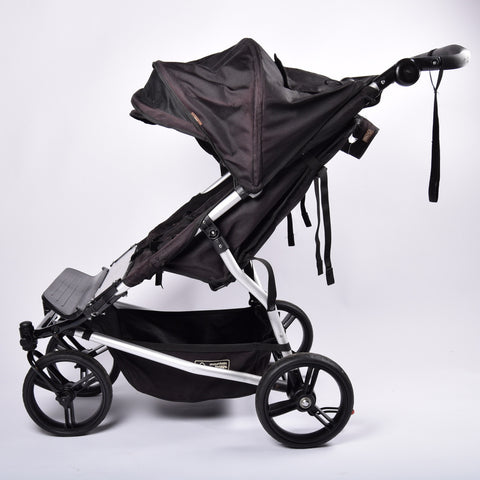 Mountain Buggy Duet Evolution (Double/Twin Pushchair), Black - Grade 2