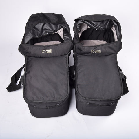 Mountain Buggy Duet Carrycots x2, Black - Grade 1