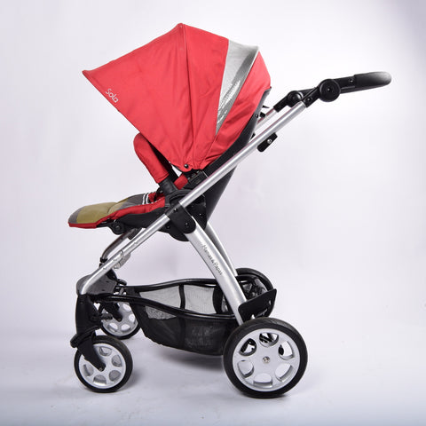 Mamas and Papas Sola 2 Pram System, Red - Grade 1