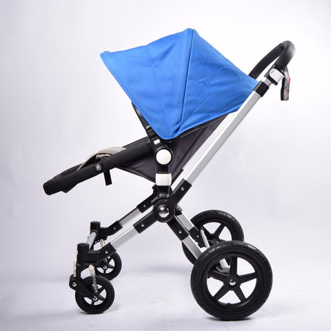Bugaboo Cameleon3, Grey+Royal Blue - Grade 1