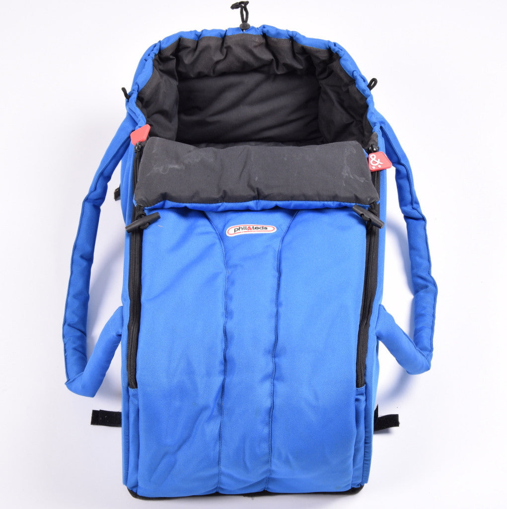 Phil and Teds Cocoon for Sport model, Blue - Grade 3