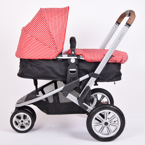 Mothercare Xpedior, Black + Red Stripe Colour Pack - Grade 1