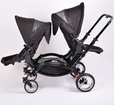 Obaby ABC Design Zoom Tandem (double), Black - Grade 3