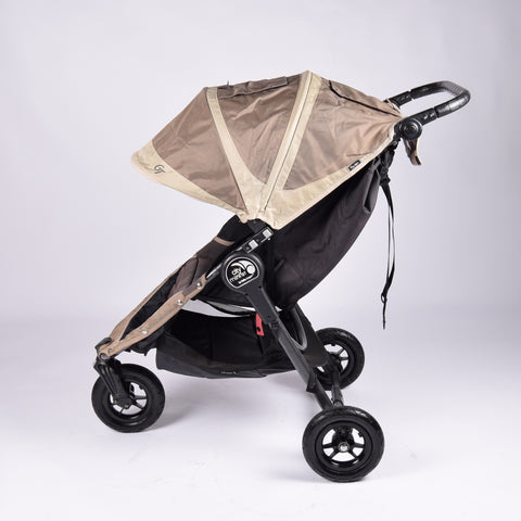 Baby Jogger City Mini GT Pushchair, Sand + Stone - Grade 2