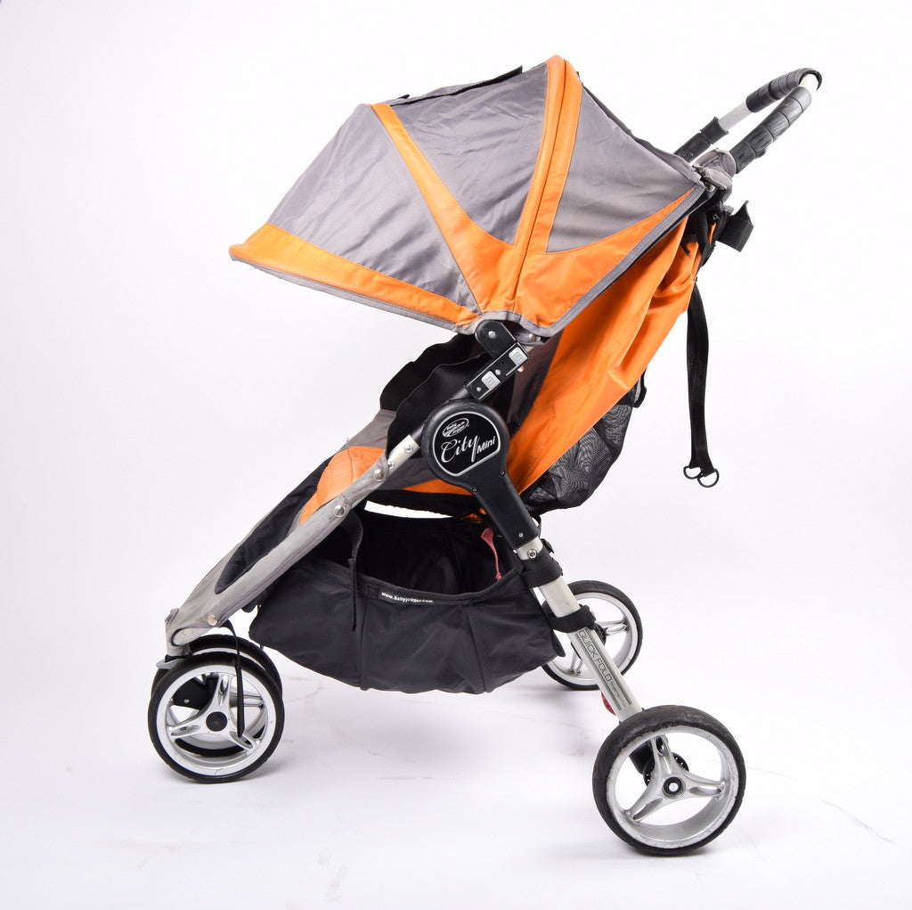 Baby Jogger City Mini Orange Grey Grade 3 Buggy Revival