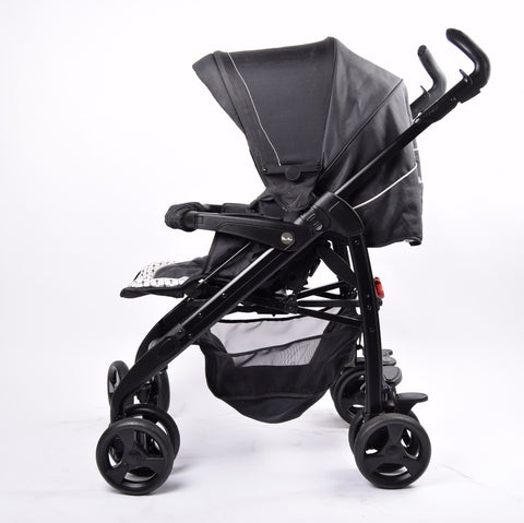 Silver Cross 3D Classic Pram & Pushchair, Monochrome - Grade 2