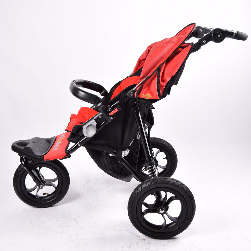 Out n About Nipper V4 360 Single, Red - Grade 2
