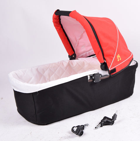 Out 'N' About Nipper Single Carrycot, Red - Grade 1