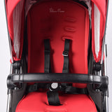 Silver Cross Pioneer Travel System, Black+Chilli - Grade 1